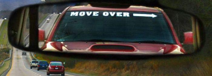 move over