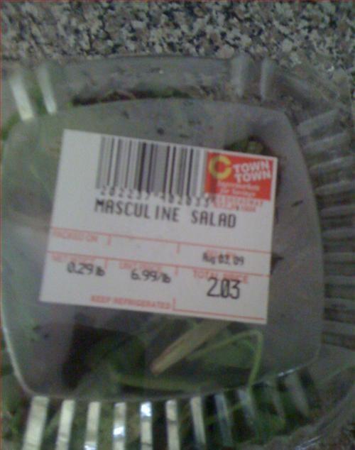 masculine salad